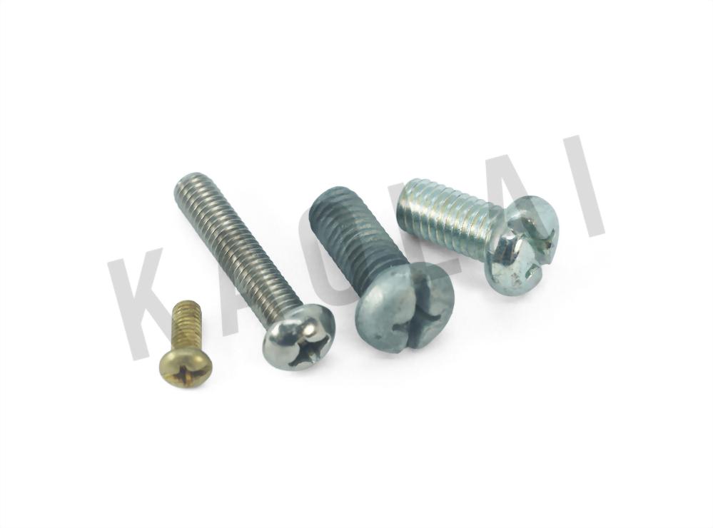 十字穴圓頭螺栓自攻螺釘 - 高來螺絲工業有限公司