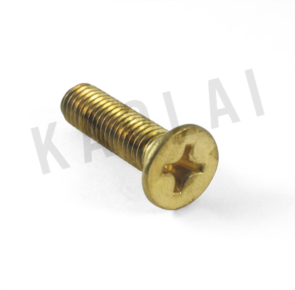 十字穴平頂埋頭螺栓自攻螺釘