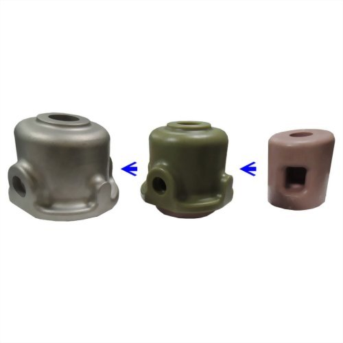 內部異形用水臘成型之閥門鑄件