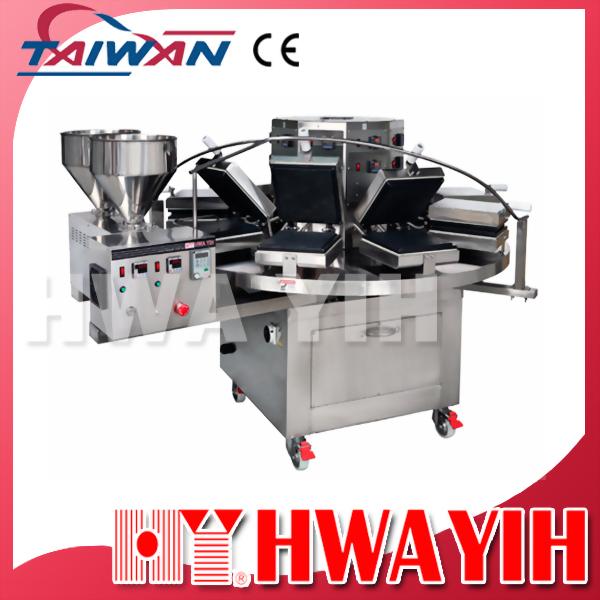 HY-910 連續式自動冰淇淋餅乾機(9模)