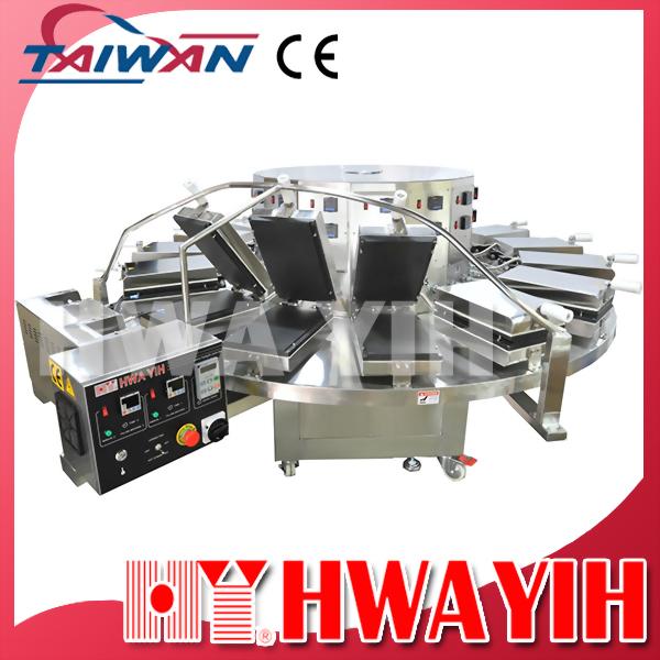 HY-910L 加大型連續式自動圓餅皮機Mini Riqaq (15模)