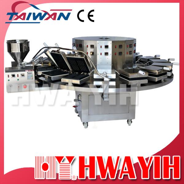 HY-910-L 加大型連續式自動鬆餅機 (15模)
