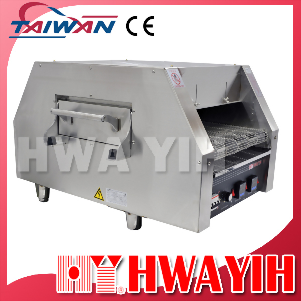 HY-520-D Electric Infra-Red Conveyor Pizza Oven with side-door