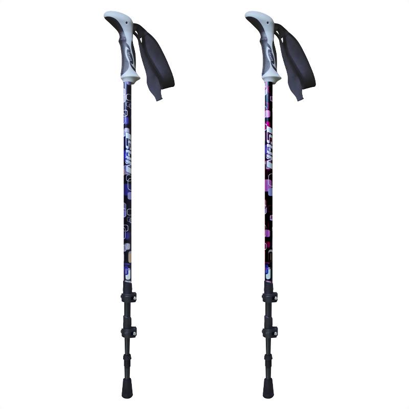 Pop Art 三段式快拆系統登山杖 直立型兩用握把