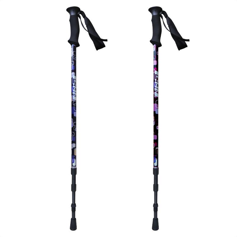 Pop Art 三段式避震登山杖 直立型EVA握把