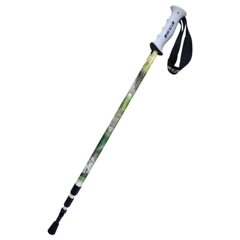 蘭嶼角鴞 三段式避震登山杖 直立握把