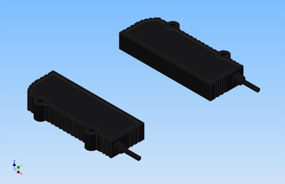 微型光幕檢測器