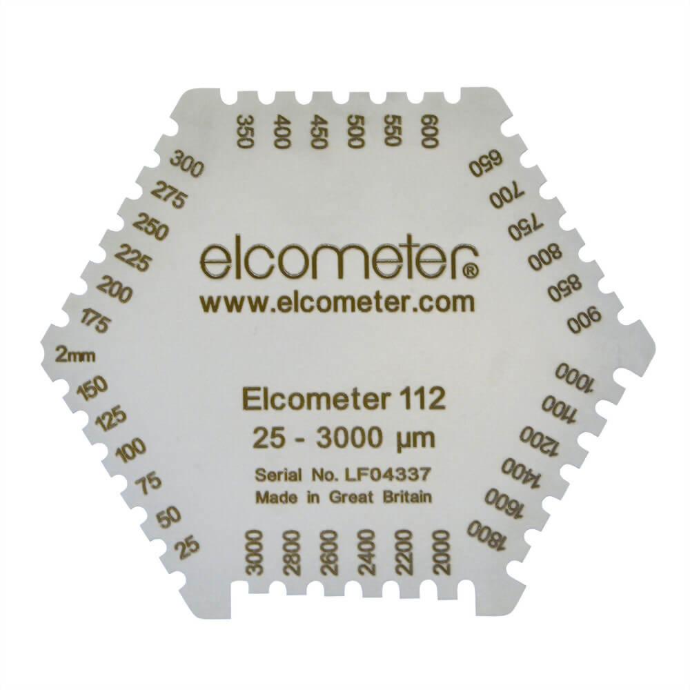 Elcometer 112AL, 112 & 3236 六角濕膜梳