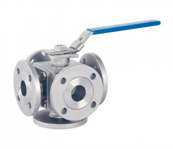 6 PC FLANGED BALL VALVE - H6FPN16