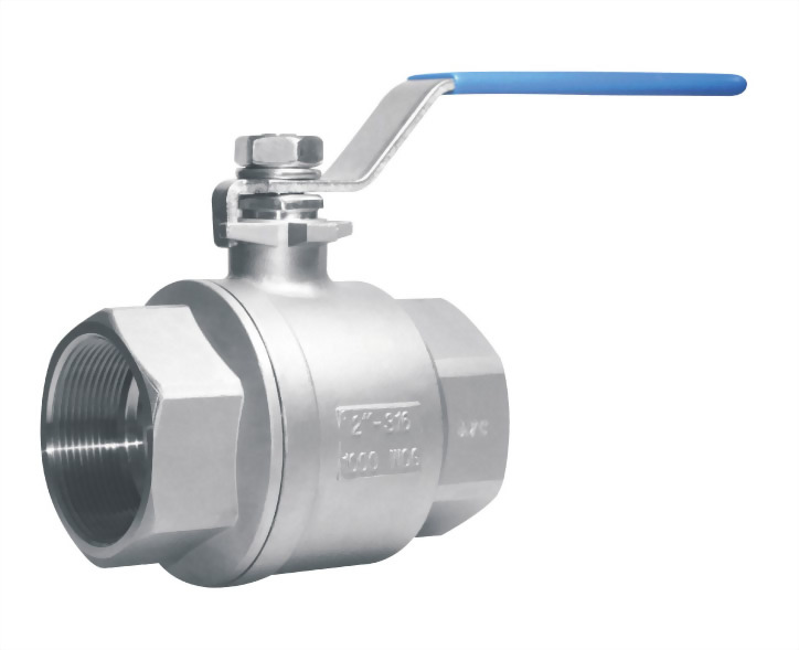 2 PC BALL VALVE WITH LEVER OPERATION - A2TH-NL