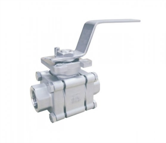 3 PC HIGH PRESSURE BALL VALVE