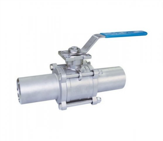 3 PC EXTENDED BUTT WELD BALL VALVE