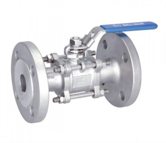 3 PC FLANGED BALL VALVE - A3FPN16