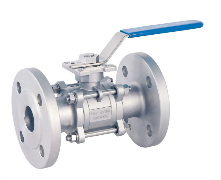 3 PC FLANGED BALL VALVE - H3FPN16