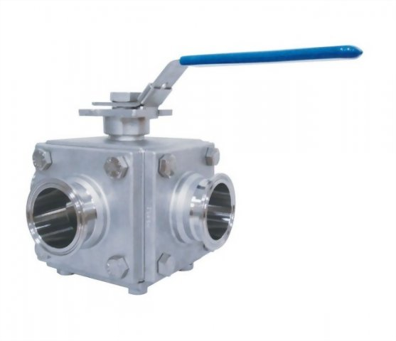 6 PC SANITARY BALL VALVE - H6SC