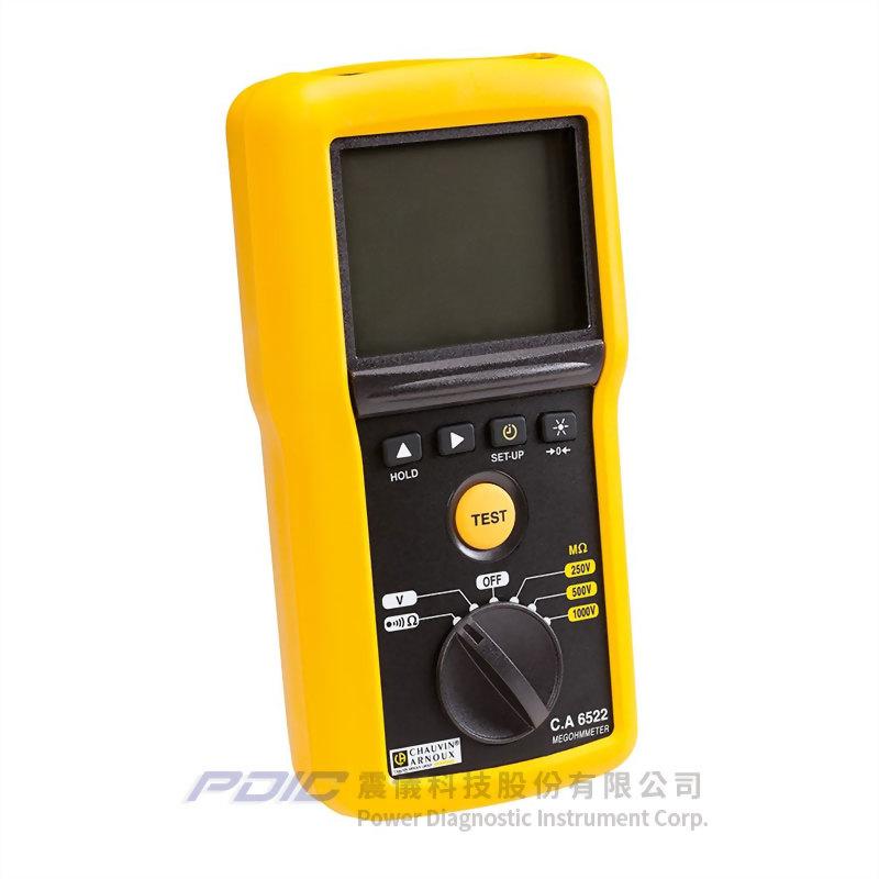 1kV工業用簡單型絶緣電阻/導通性測試器