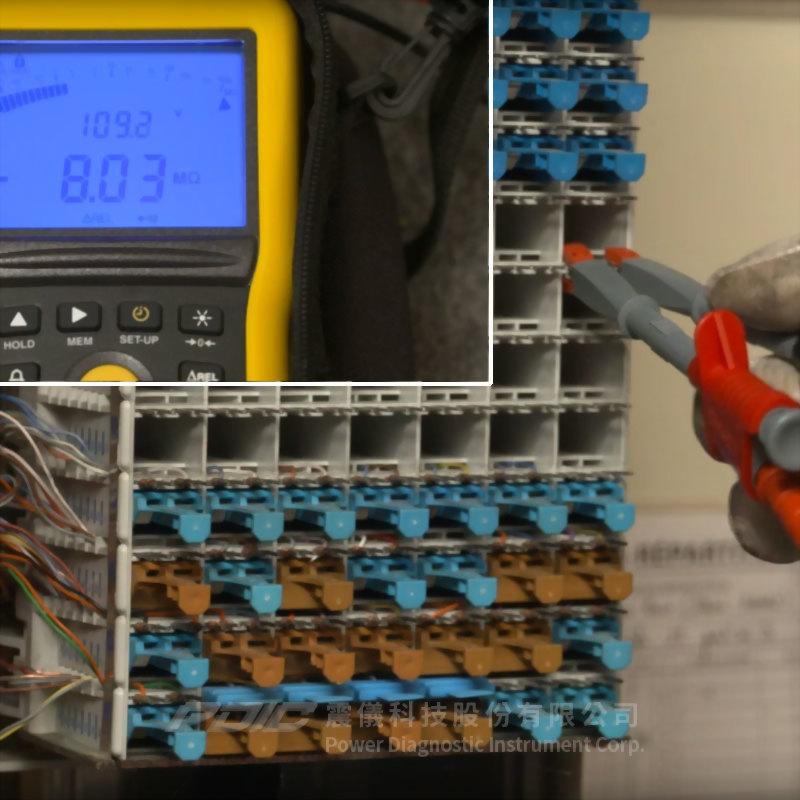 50-100V電信用絶緣電阻/導通性測試器