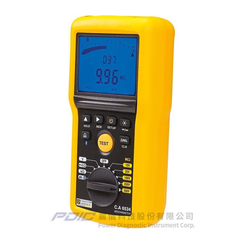 10-500V電子用絶緣電阻/導通性測試器