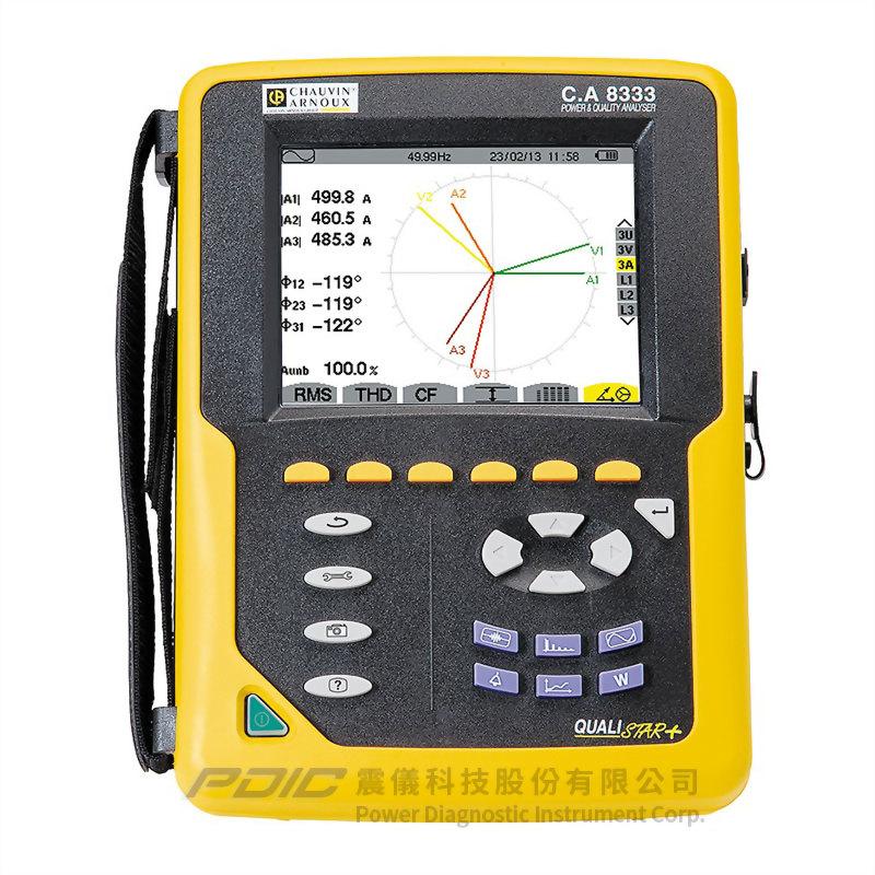 精簡型三相電力品質分析儀