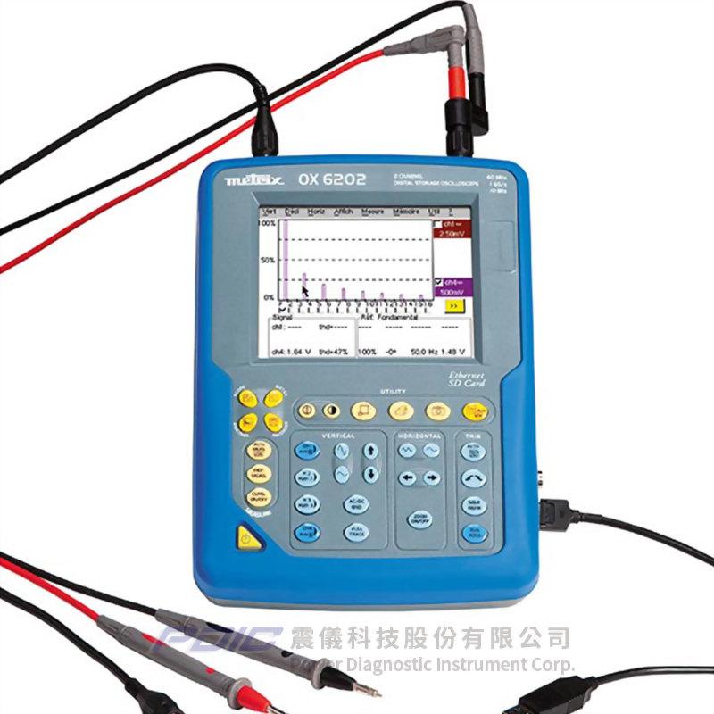 200MHz多功能桌上型分析式示波器(2個測量通道)