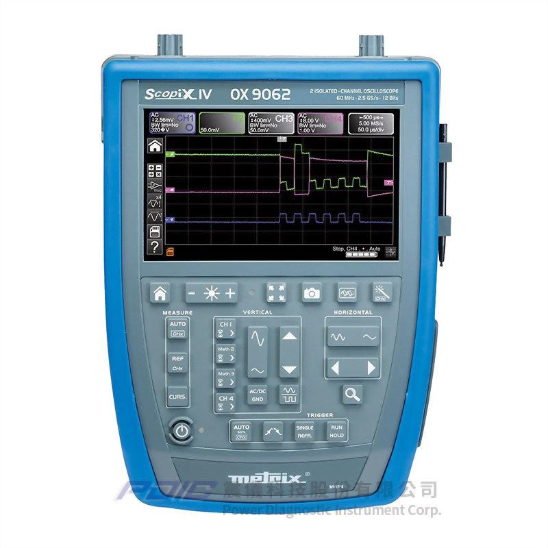 60MHz多功能手持式示波器(2個獨立通道)