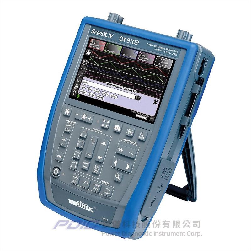 100MHz多功能手持式示波器(2個獨立通道)