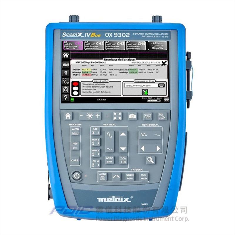 300MHz便攜式數位示波器(2個獨立通道)