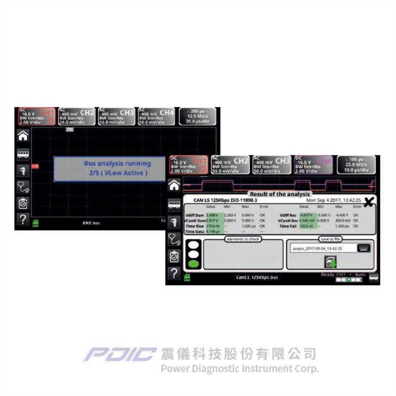 300MHz數位手持式示波器(2個獨立通道)