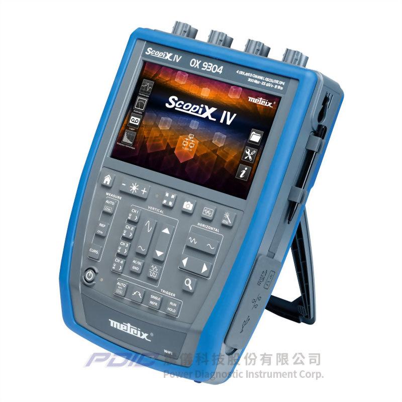 300MHz便攜式多功能示波器(4個獨立通道)