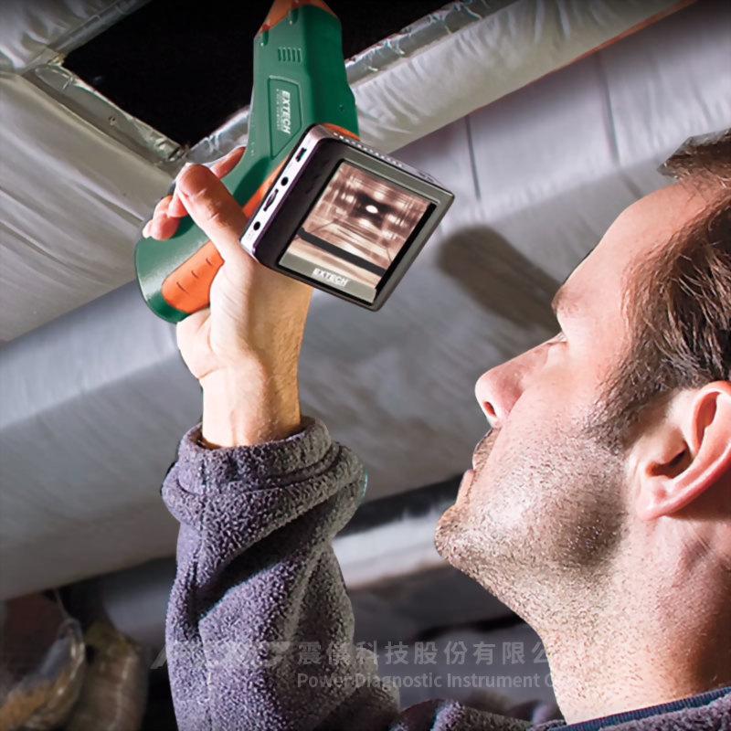 工業/住宅用無線管道內視鏡組