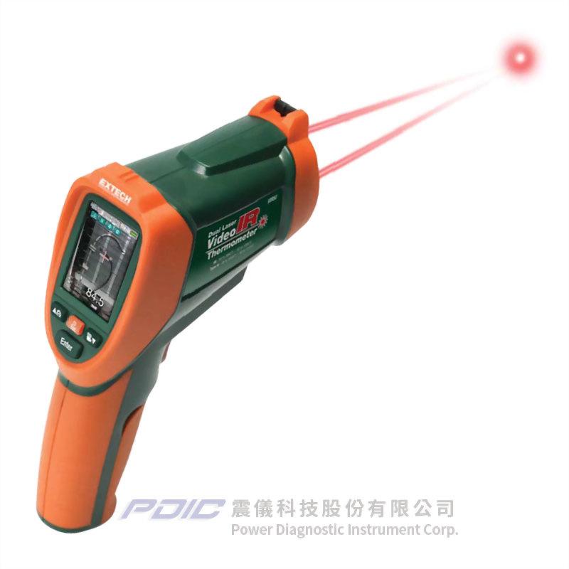 內建攝影機的雙雷射紅外線高溫測溫槍