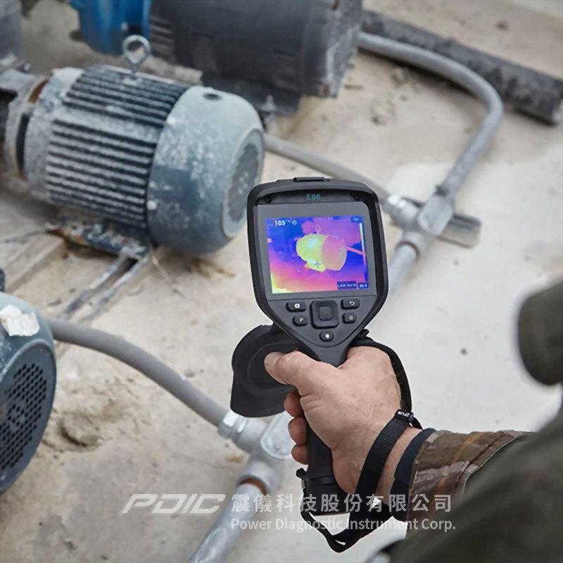 高性能電機/建物檢測/體溫篩檢紅外線熱像儀