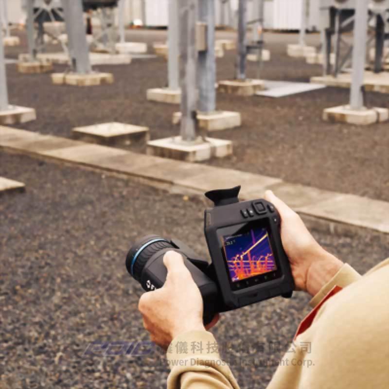 高性能高解析專業紅外線熱像儀