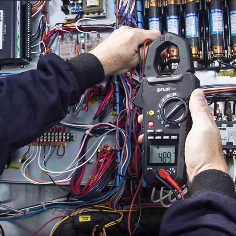 工業級1000A真有效值交直流鉤錶/紅外線溫度計