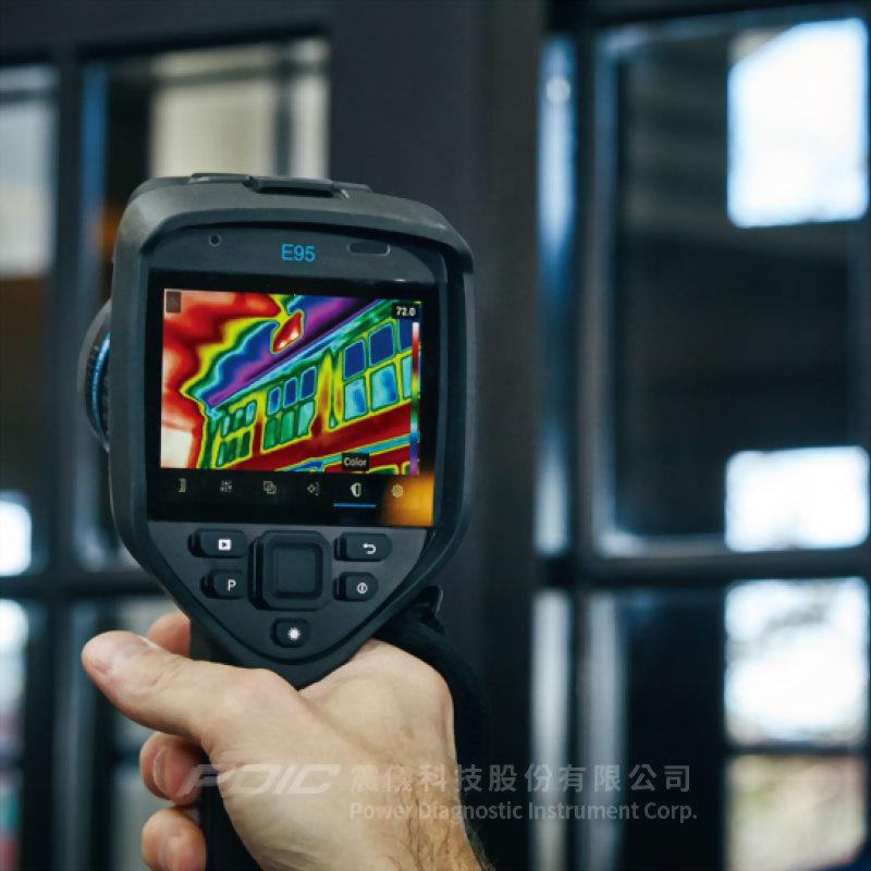 手持電氣/機械/建物檢測專用紅外線熱像儀