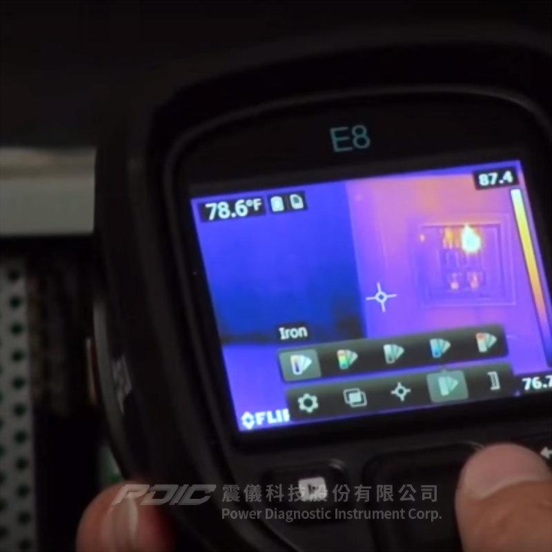 簡單型電氣/機械/建物檢測專用紅外線熱像儀