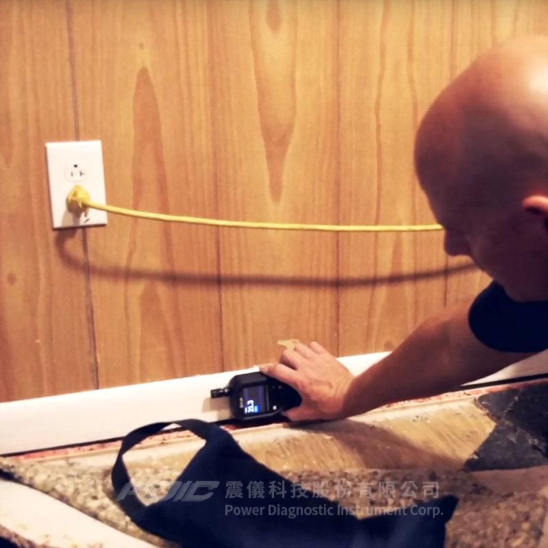 紅外線熱像儀水份測定計