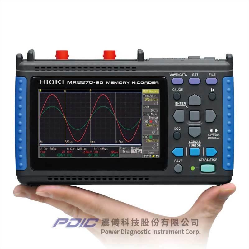 儲存式高速波形監測/記錄器