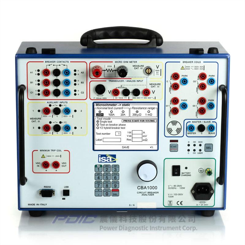 斷路器分析儀/200A微歐姆計
