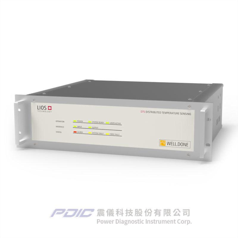 油氣產業專用分佈式光纖溫度監測系統