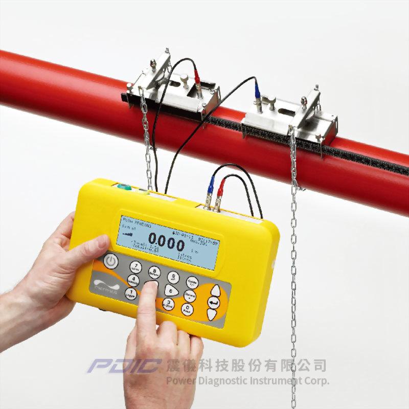 攜帶型時差式超音波流量計