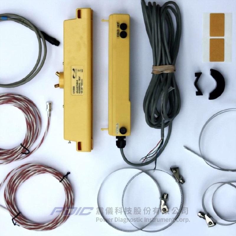 固定夾管型時差式超音波流量計