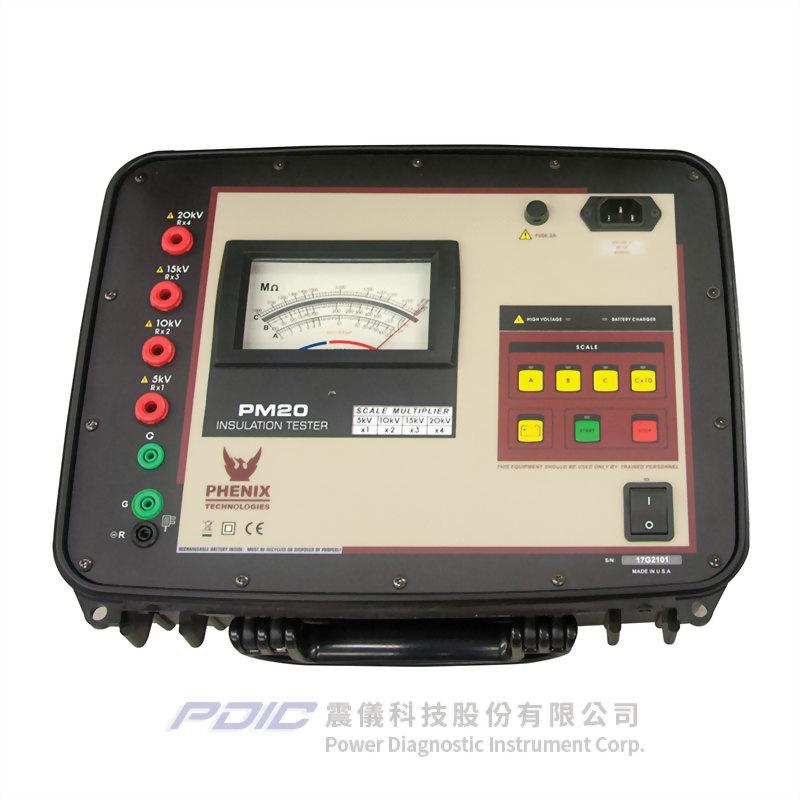 5kVAC及6kVDC或5/15/20kVDC交/直流絕緣耐壓測試器/高阻計