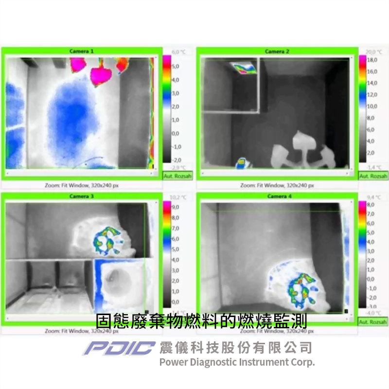 智慧型自動化監控紅外線熱像儀系統