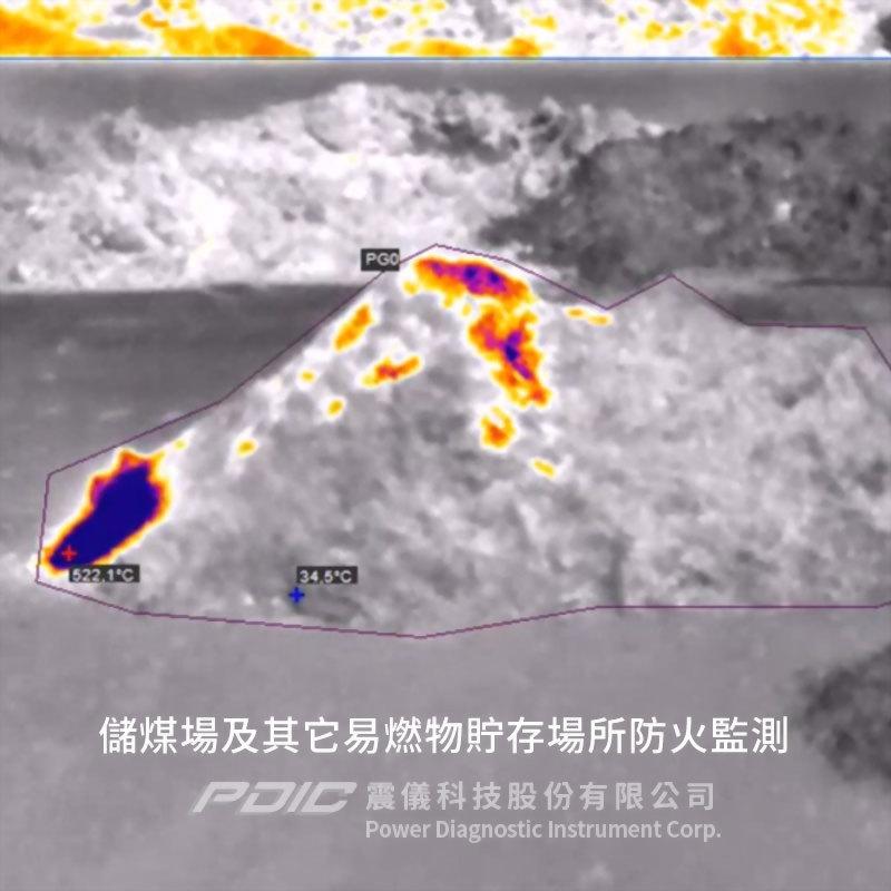 室外火警偵測專用紅外線熱像儀系統