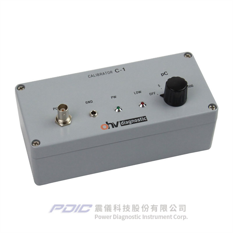 局部放電測量電路校正器