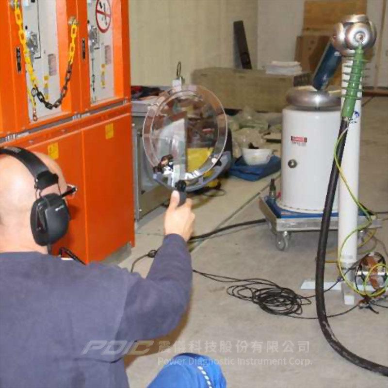 超音波局部放電定位探測器