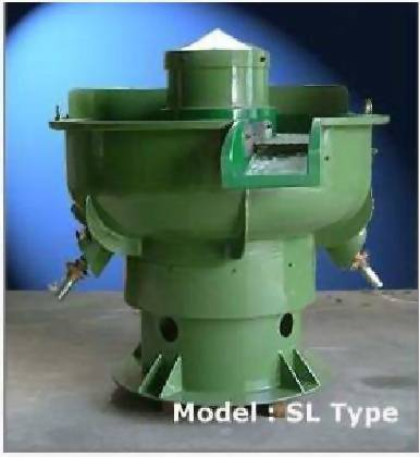 SL-3-Dimensional Vibratory Finishing Machines