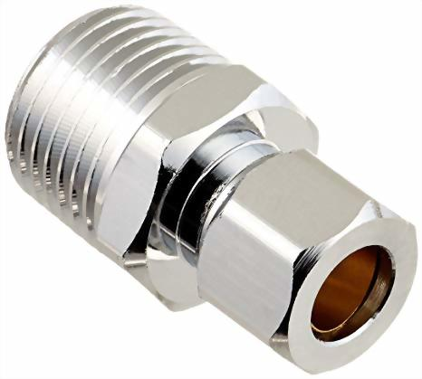 Plumbing Supplies- straight connectors