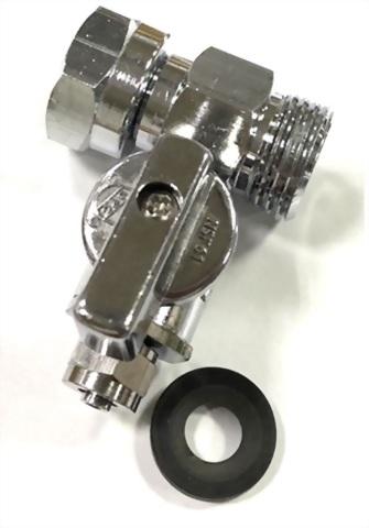 R.O. Water System-diverter valves